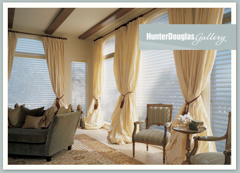 Residential drapery, shutters, and blinds