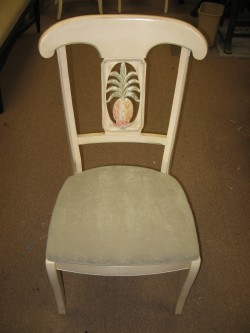 Before Picture of Kitchen Chair