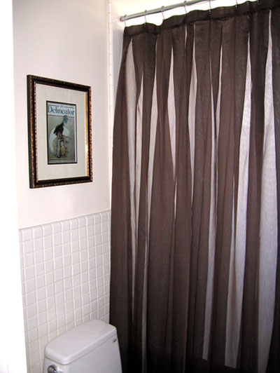 Custom Contemporary Shower Curtain