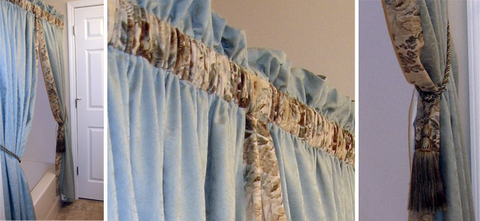 Curtain Valance Swag - Compare Prices Including Taupe Curtains Fringe