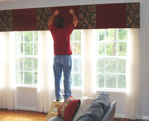 Drapery Installation Services