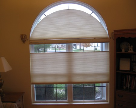Decorating window arch shade inspiring photos gallery for Garage seat valence