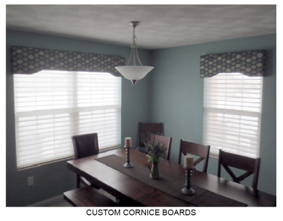 Custom Cornice Boards