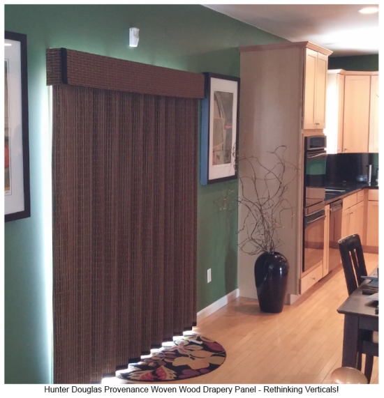 Hunter Douglas Provenance Woven Wood Panels