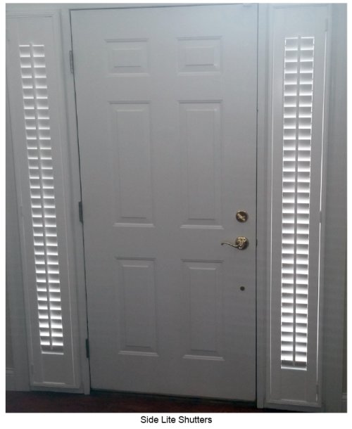 Hunter Douglas Side Lite Shutters