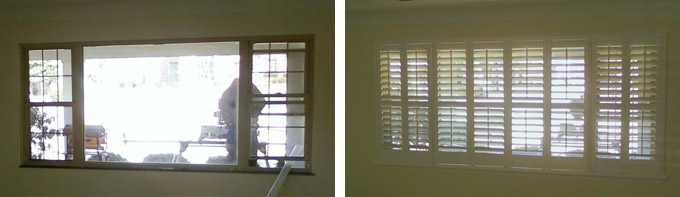 Shutter Before & After in West Belleville, IL