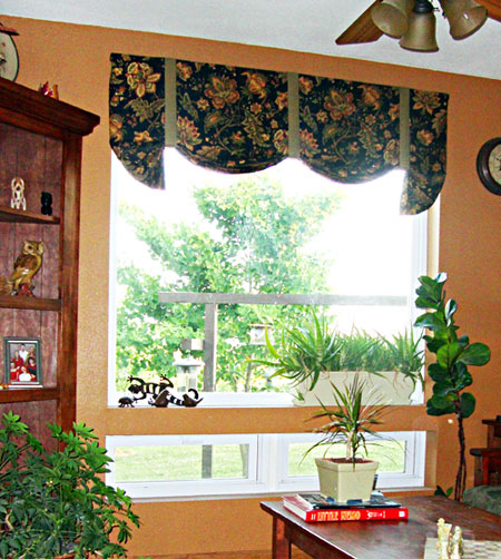 Smithton Custom Valance with Hunter Douglas Duette