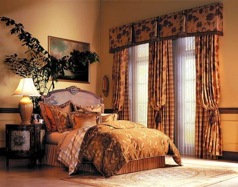 Custom Bedding & Drapery