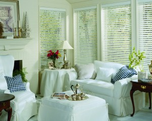 "Hunter Douglas Everwood Faux Wood 2"" Blinds"