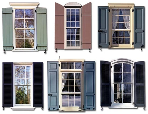 Exterior design on pinterest metal awning red brick houses and porticos - Types shutters consider windows ...