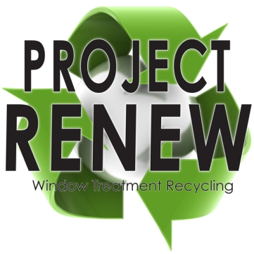 Window Treatment Recycling Logo