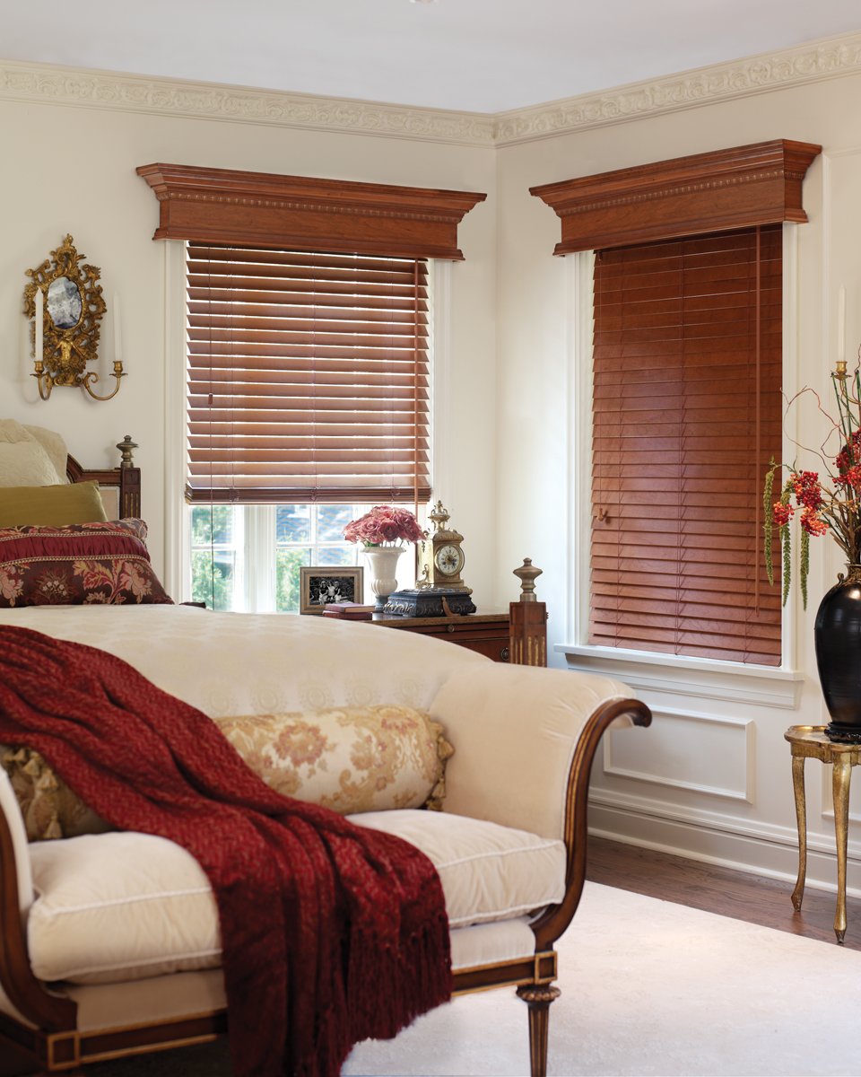 Fabulous Faux Wood Blinds | Eye on Design drapery ...