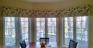 Mock Roman Valance In Springfield Il Eye On Design
